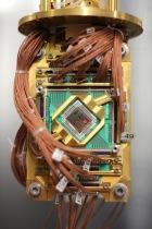 D-Wave's chip. (D-Wave)