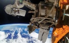 UrtheCast successfully mounted its two cameras on the International Space Station in January. (Urthecast corp.)
